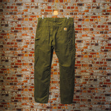Load image into Gallery viewer, khaki-carhartt-broek-achterkant