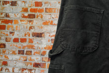 Load image into Gallery viewer, zwarte-tweedehands-carhartt-jeans-lus