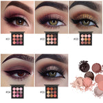 9 Color Eyeshadow Palette Matte + Shimmer + Smokey