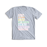 Rainbow Hands Dirty Tee