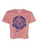 Stronger Than a Lion Cropped Tee