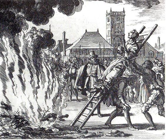 witch burn fire 16th century