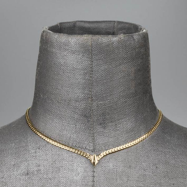 The Chevron Collar - Gold