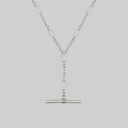 The T-Bar Chain - Silver