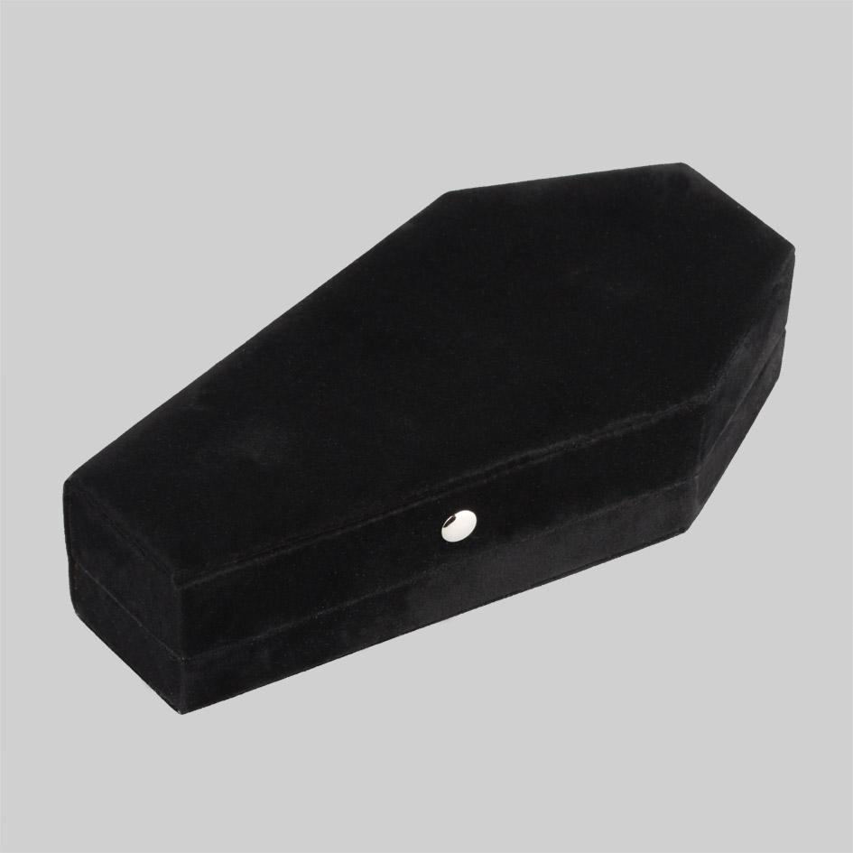 e5a20b077 The Black Velvet Coffin Ring Case – REGALROSE
