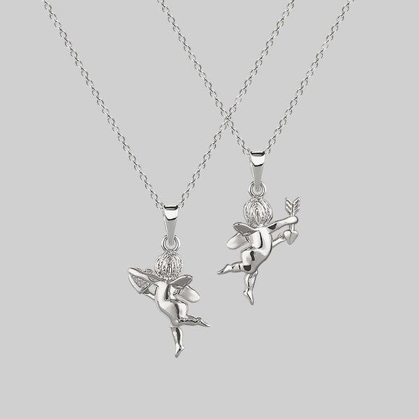 love angel necklaces, romantic jewellery