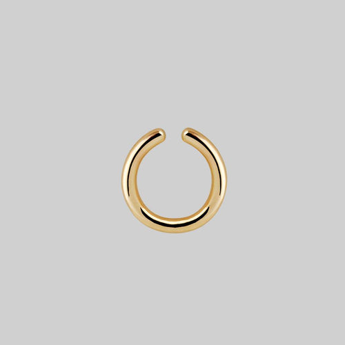 ORBIT. Chunky Conch Ear Cuff - Gold