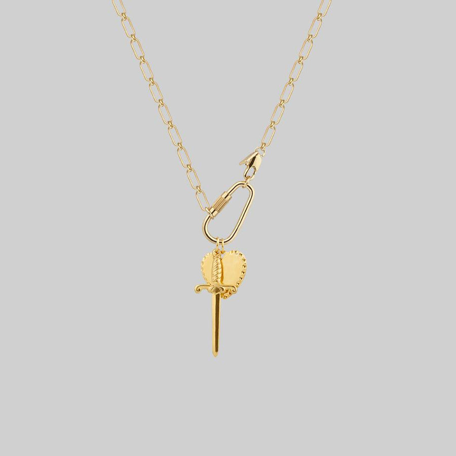 fob chain gold necklace gold