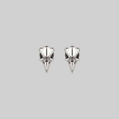 STRUCK. Heart & Arrow 9K Gold Earrings