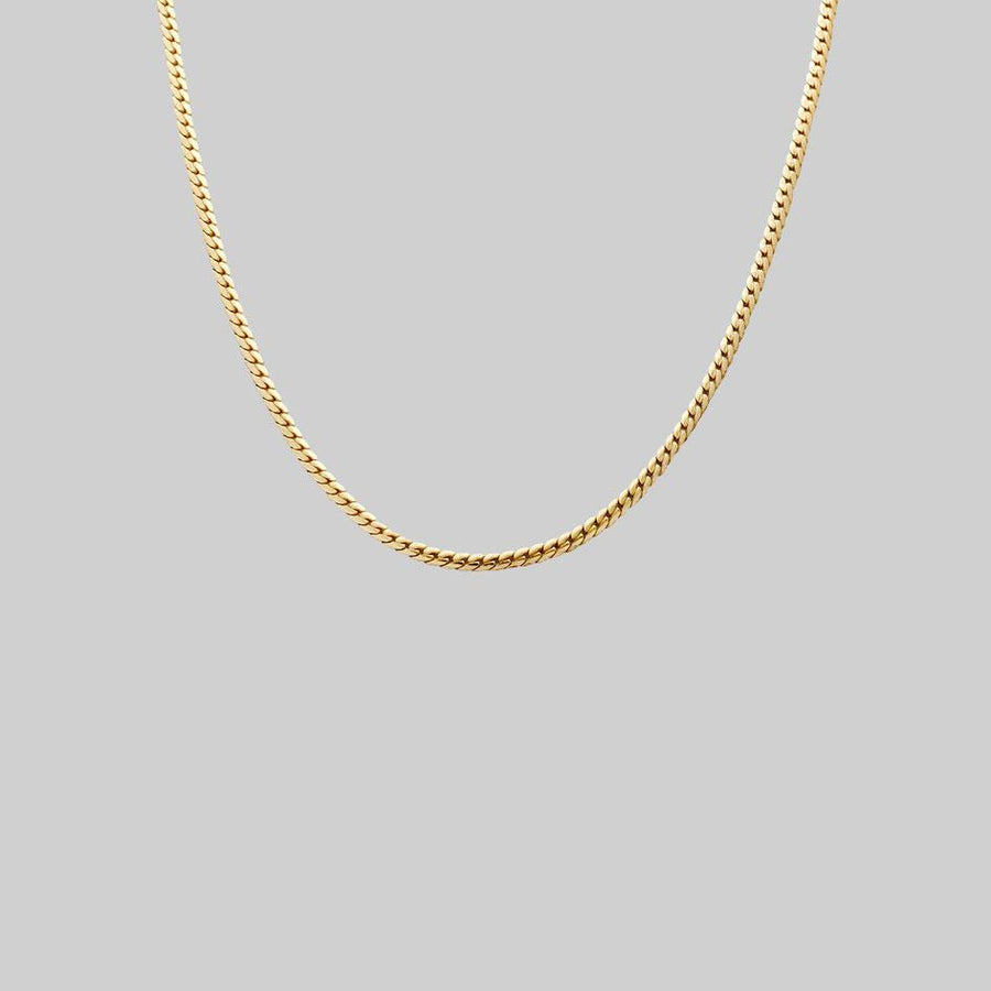 layering chain necklace