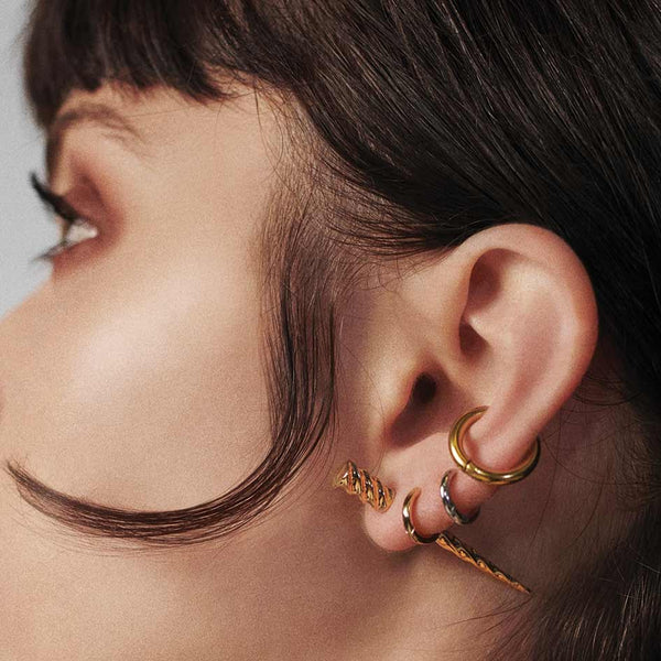 MYTHICAL. Unicorn Single Earring - Gold