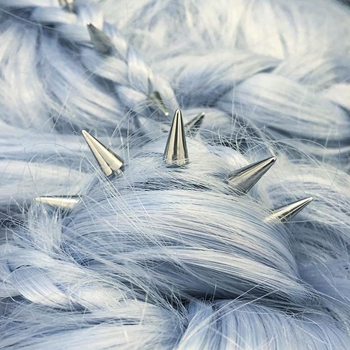 Hair Accessories - PHOENIX. Silver Hair Spikes