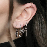 memento mori earrings