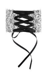 Necklace - REGINA. Grand Baroque Corset Choker