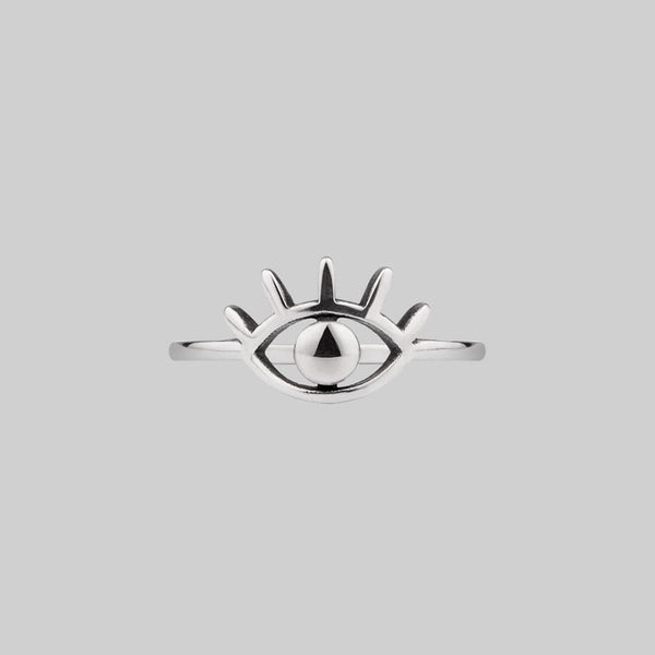 All Seeing Eye Ring - Silver
