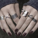 Ring - MERCY. Eagle Claw Wrap Ring