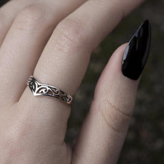 Ring - TRIBE. Silver Chevron Ring