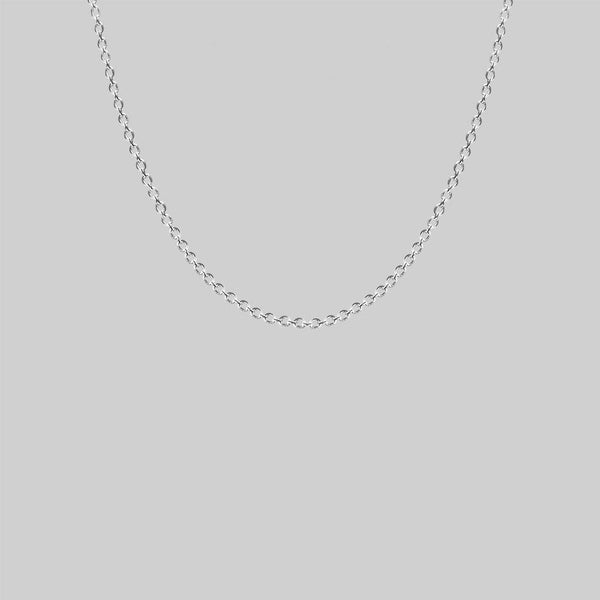 Simple Trace Chain - Silver
