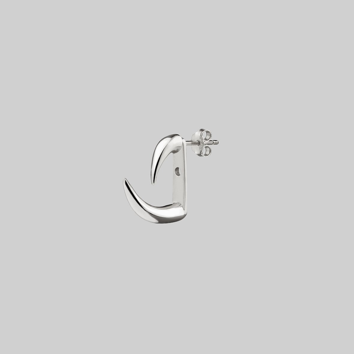 single stud claw earring