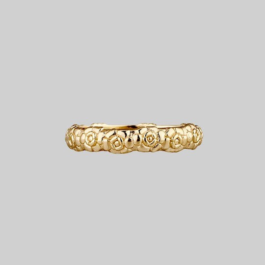 This Too Shall Pass Posie Ring - Gold