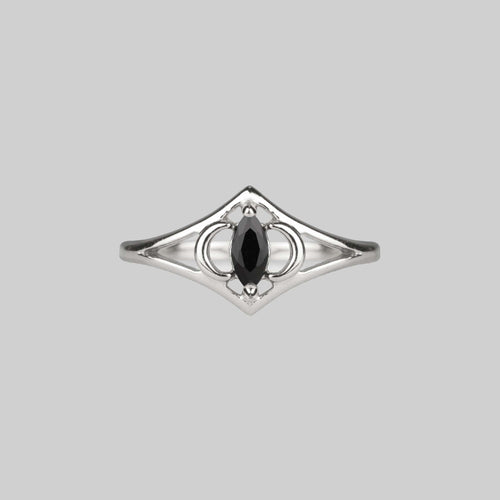 BAD TO THE. Bone Wrap Ring - Silver