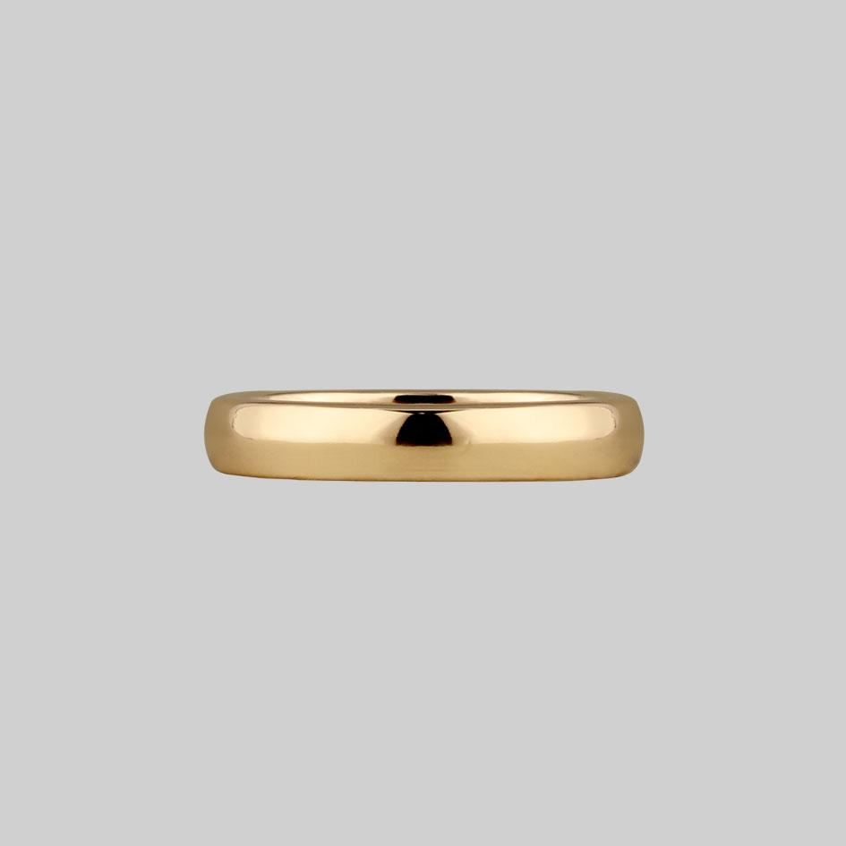 gold posie ring gothic font inside