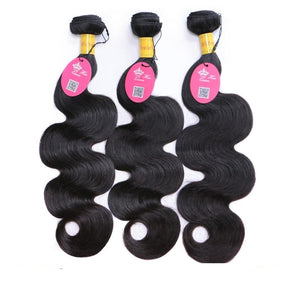 Peruvian Virgin Hair Body Wave 100% Human Hair