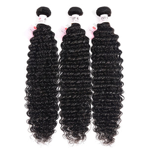 Peruvian Deep Wave Bundles 8-26 Inches