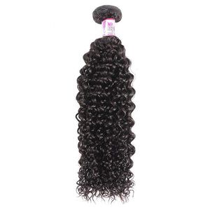 Indian Curly Hair Extensions 1 Bundle 100% Human Hair