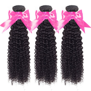 Hair Weave Bundles Malaysian Kinky Curly Hair