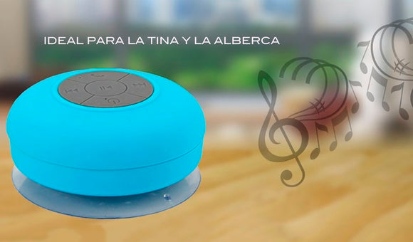 MINI BOCINA IMPERMEABLE  INALAMBRICA BLUETOOTH