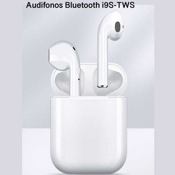 MINI AUDIFONOS TIPO AIR PODS I9s INALAMBRICO BLUETOOTH