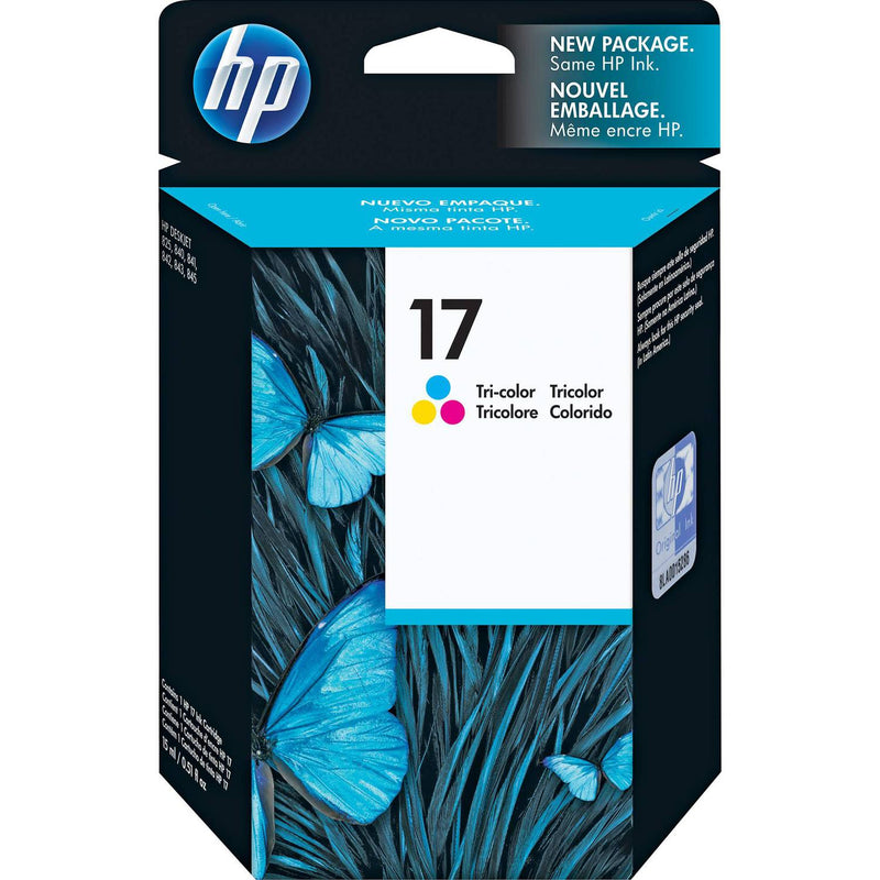 HP 17 Tri-Color Inkjet Print Cartridge