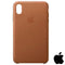 Apple iPhone XS Max Leather Case Brown (MRWR2ZM/A)
