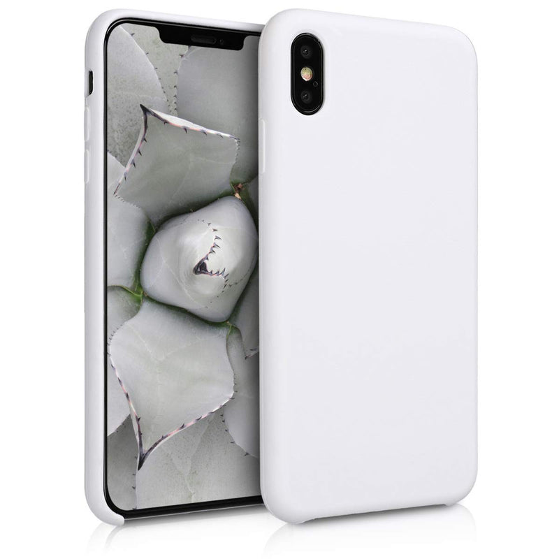 Apple iPhone XS Max Silicone Case - White (MRWF2ZM/A)