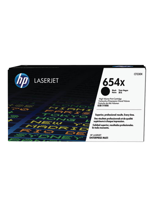 HP 654X High Yield Black Original Laserjet Toner