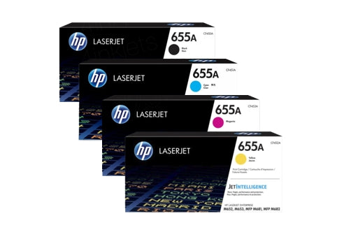 HP 655A Original LaserJet Toner Cartridges