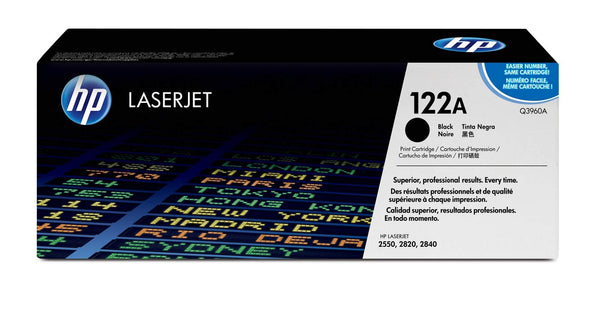 HP 122A Black Laserjet Toner Cartridge