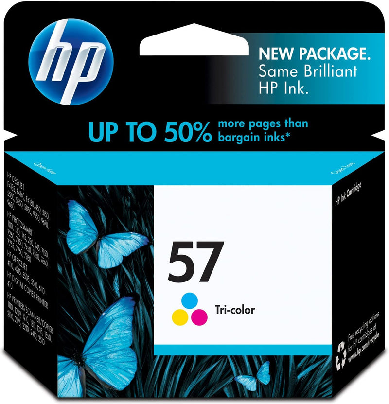 HP 57 Tri-Color Inkjet Print Cartridge
