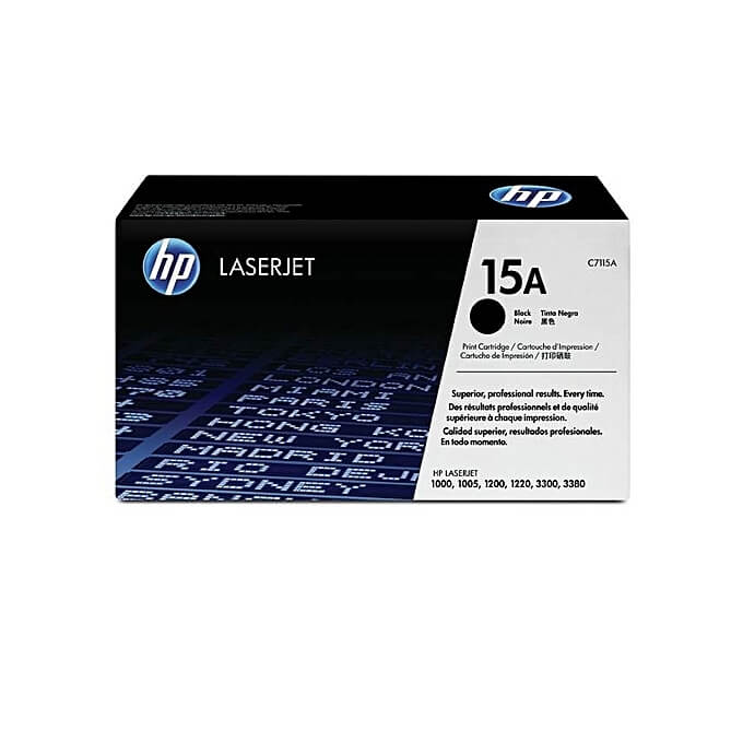 HP 15A Black Laserjet Toner Cartridge