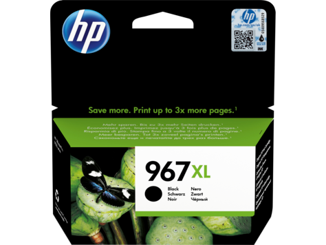 HP 967XL High Yield Black Original Ink Cartridge