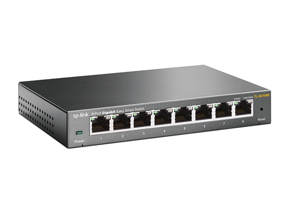 TP-Link 8-Port Gigabit Easy Smart Switch (TL-SG108E)