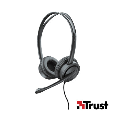 Trust Headset USB Mauro for PC and laptop (T17591)