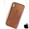 Apple iPhone X Leather Case Saddle Brown (MQTA2ZM/A)