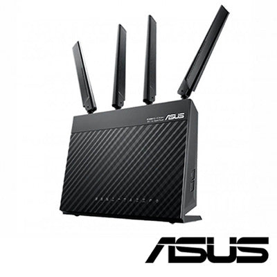 Asus Wireless-AC1900 Dual-Band USB3.0 Gigabit Router (RT-AC68U)