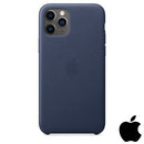 Apple iPhone 11 Pro Leather Case Midnight Blue (MWYG2ZM/A)
