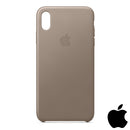 Apple iPhone XS Leather Case Taupe (MRWL2ZM/A)