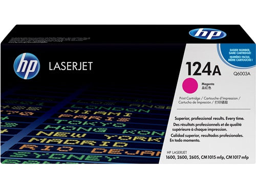 HP 124A Magenta Laserjet Toner Cartridge