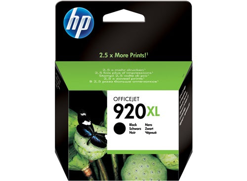 Hp 920xl Black Officejet Ink Cartridge