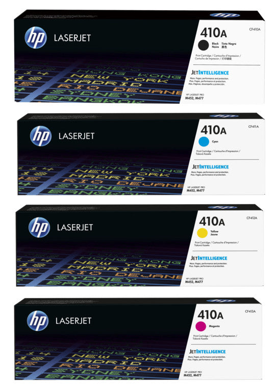 HP 410A Laserjet Toner Cartridges